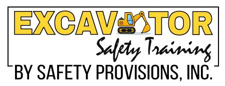 excavator safety training logo